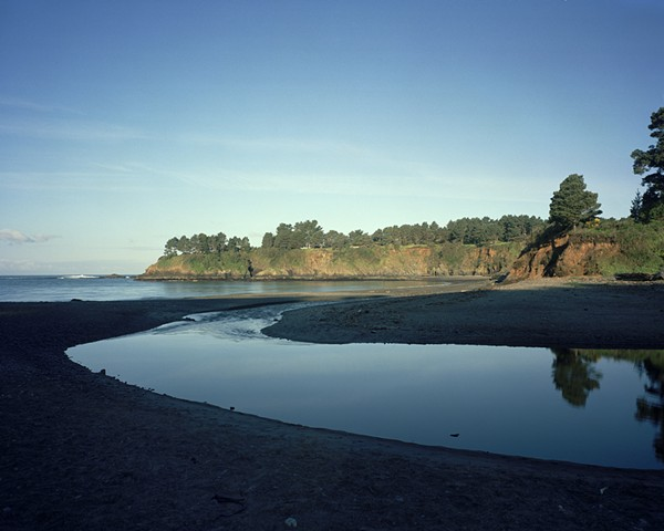 Mouth of the Little River, Van Damme State Park, Mendocino County, 2006