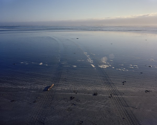 Mouth of the Little River, Little River State Beach, Humboldt County, 2001