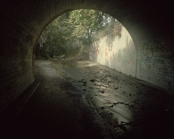 Solstice Canyon Creek Storm Drain, Malibu, Los Angeles County, 2001
