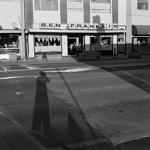 Shadow Self-Portrait in Bishop, 2013