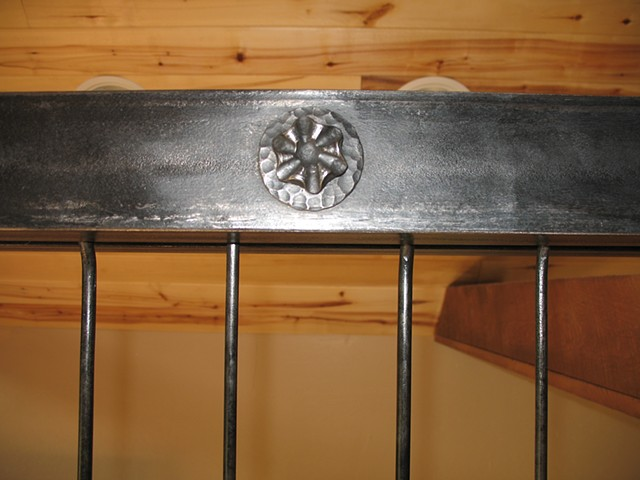 pot rack , forged , hammer texture, Rico CO