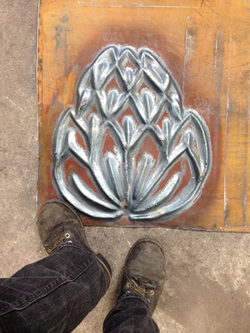 forged steel artichoke study