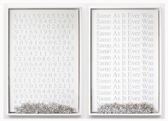 Adam David Brown, Pi, Same As It Ever Was, Conceptual Art
