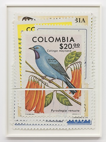Stamps, Equator, Art, 0 Degrees Latitude, Adam David Brown
