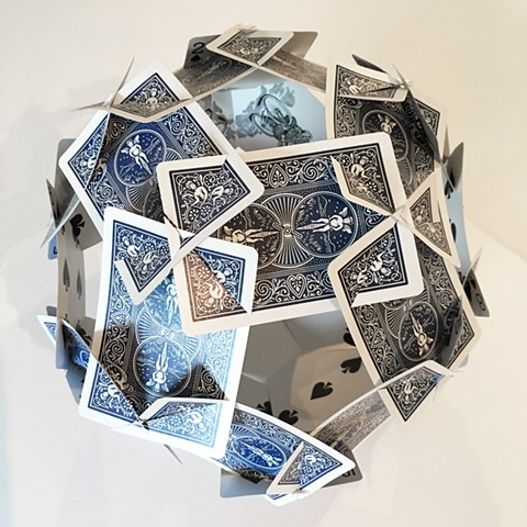 Playing Cards, truncated icosahedron, dodecahedron