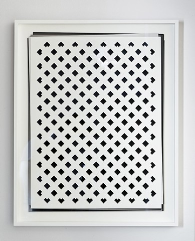 Artist Adam David Brown, Everette's Paradox, Paper, Holes