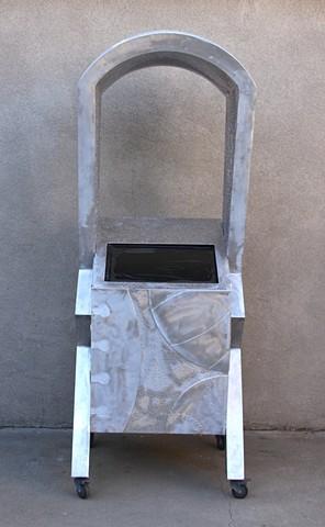 Sculptural Computer Kiosk