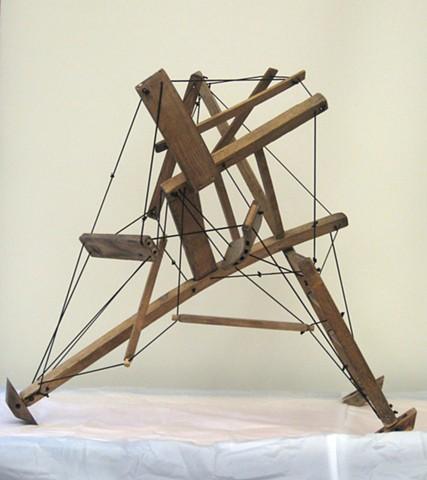 Student Work Altered Chair Project, Beginning Sculpture, Gavilan College