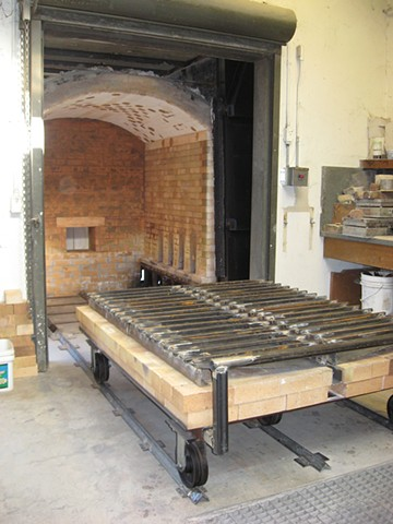 Car Kiln for Cal State Stanislaus