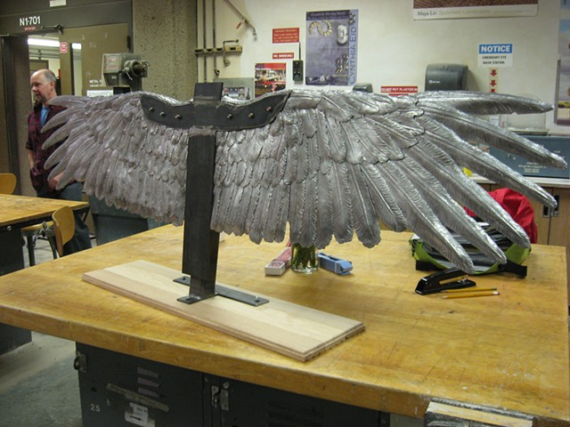 Student Work, Casting and Fabrication Project, Advanced Sculpture  Mission College