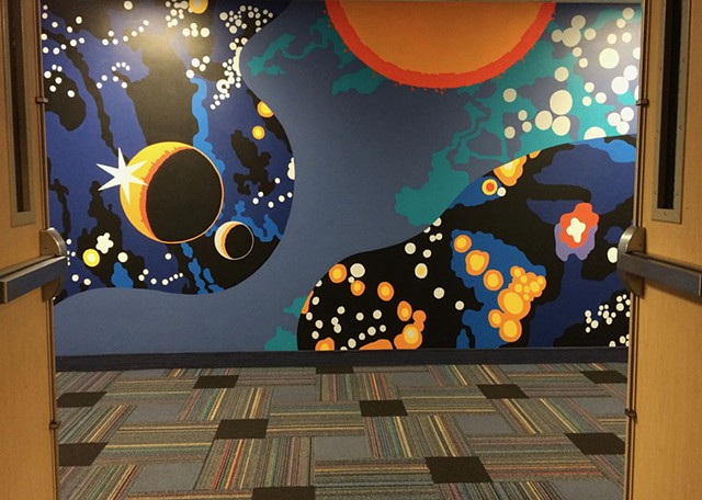 Vineyard Community Center Connector Mural
