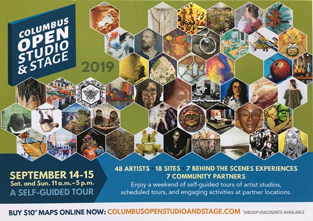 Columbus Open Studio and Stage Tour 2019