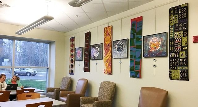 Solo Exhibit at Stow-Munroe Falls Public Library Art Gallery