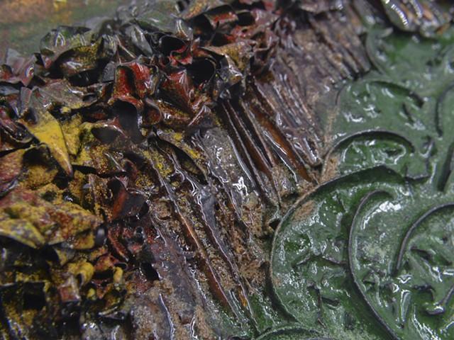 New England Neckpiece Detail