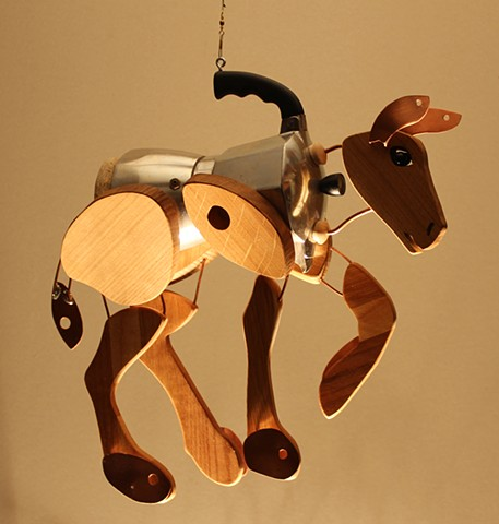 Hanging Mule Sculpture