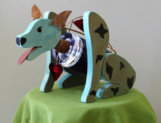 Blue Heeler Sculpture
