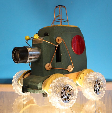 Rover Vehicle Sculpture