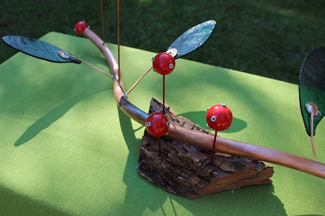 Abstract Branch Tabletop Sculpture.