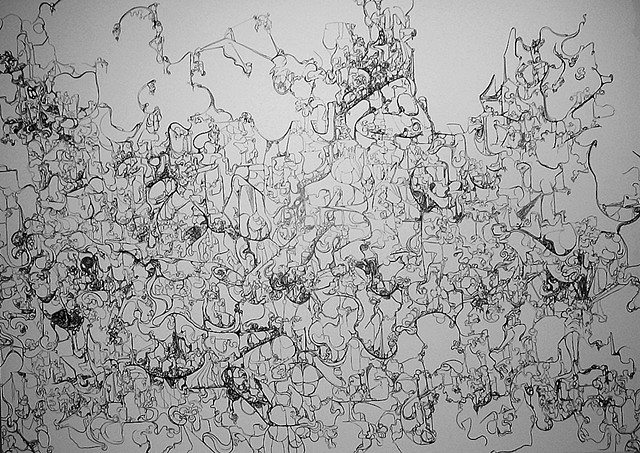 Wall Drawing (From DePauw University BA exhibition)