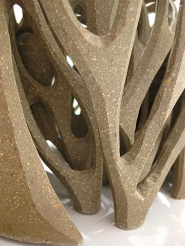Voronoi II, detail
