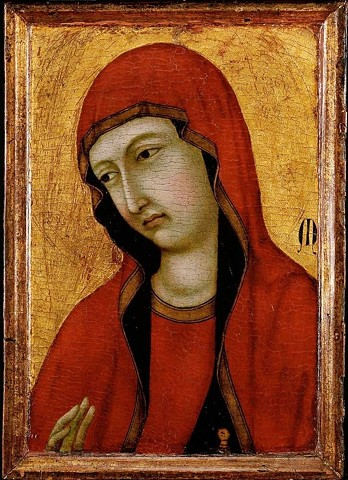 Portrait of Mary Magdalene 15th century
