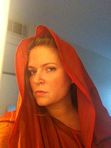 Artist as Mary Magdalene