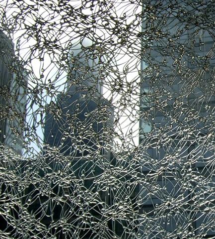 hot glue lace based on a Louis Sullivan design