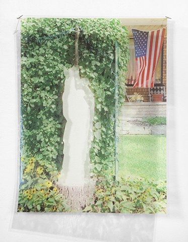 Ghost Mary, Baby Jesus & American Flag