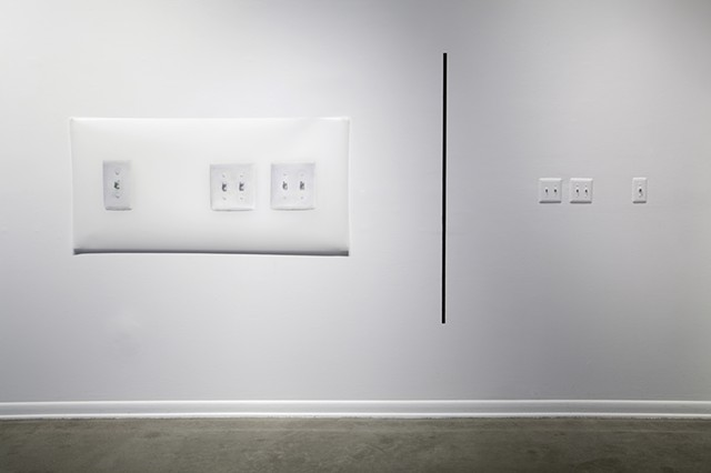 Installation view: Bringing the Background into the Foreground...