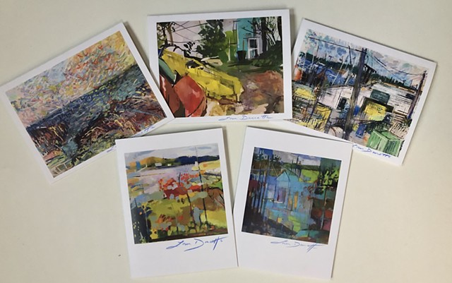 Landscape Notecard Bundle of 5