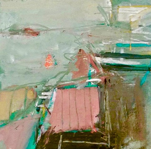 Abstraction, Bernie's Porch