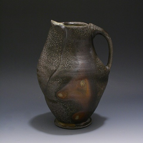 Purple and Brown Pitcher
