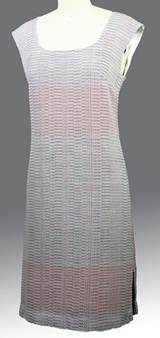 Handwoven fitted dress