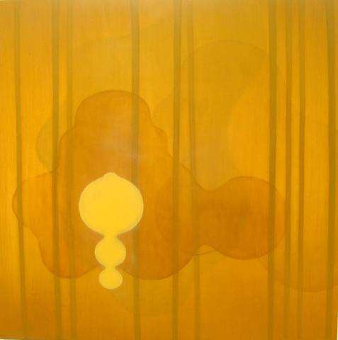 Untitled (yellow/ochre)