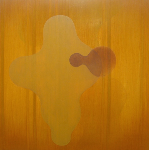 Untitled (burnt umber/ochre)