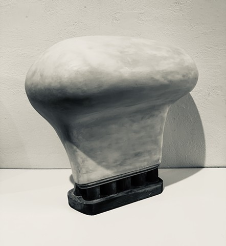 Untitled-head on a pedestal