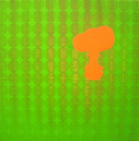 Untitled (orange/green)