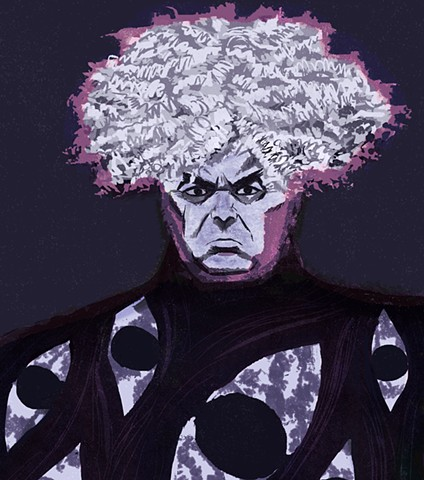 portrait of King Buzzo, The Melvins