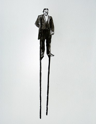 (Man on Stilts)