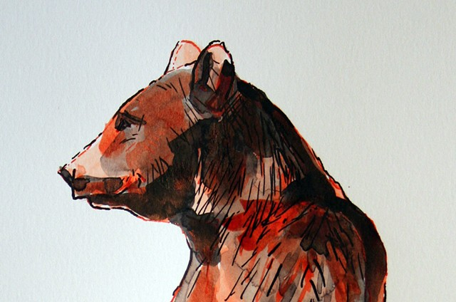(Orange Bear) detail