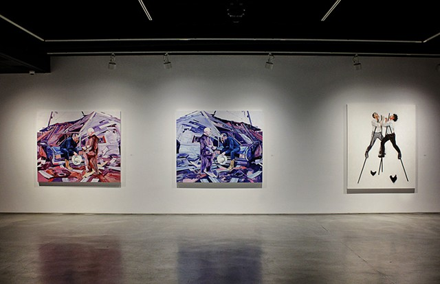 Exhibition view (image by Camillia Courts)