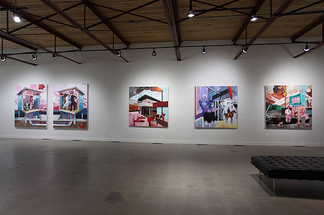 Exhibition views (2013-15)