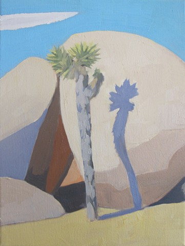Joshua Tree, Oil Painting