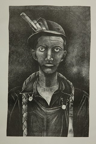 Libby McFalls art coal mining art west Virginia