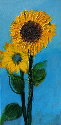 Sunflower & Blue Eyed Susan
