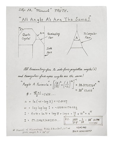 """All Angle A's Are The Same!"" 12/14/1993"
