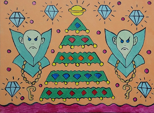 Grumpy Alien Christmas