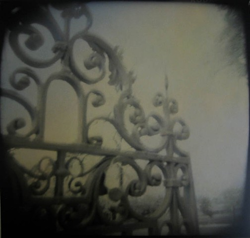 Ornamental Gate, Buscot Estate, England