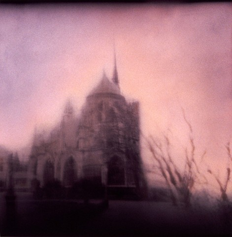 Winter Sky, Notre Dame, Paris
