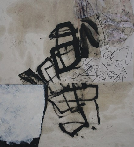 oil on paper, drawing, painting,abstract,black,sense perceptions,conceptual,gestural,rain,water